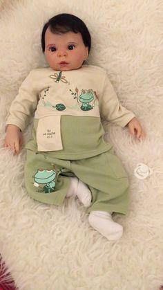 Bébé Reborn Mateus Issue Du kit Willow Flower Mesure 55 cm Poids 3,350kg Sculpté par Donna Rubert  Renaître par Art Reborn by Flávia