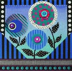 Whimsy in Blue 2300