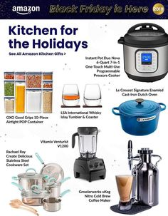 Amazon Black Friday Ad Scan, Deals and Sales 2019 The Amazon 2019 Black Friday ad is here! Be sure to subscribe to our newsletter to receive emails about all the latest Black Friday news and ad leaks ... #blackfriday #amazon Amazon Black Friday, Black Friday Ads, Friday News, Nitro Cold Brew, Ring Video Doorbell, Cold Brew Coffee Maker, Cast Iron Dutch Oven, Cookware Set, Kitchen Gifts