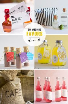 24 DIY wedding favors | Best Day Ever