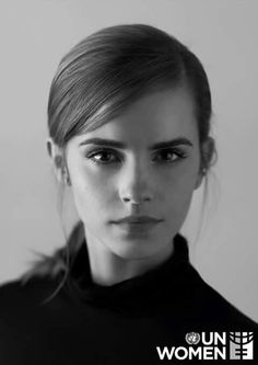 Love me some Emma Watson. Such classic beauty, style, and grace. Emma Watson Named Goodwill Ambassador Pretty People, Beautiful People, Beautiful Lips, Simply Beautiful, Harry Potter Film, Black And White Portraits, British Actresses, Pretty Pictures, Funny Pictures