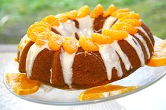 Sunny Side Up Citrus and Pumpkin Bundt Cake from Sweet and Crumby.