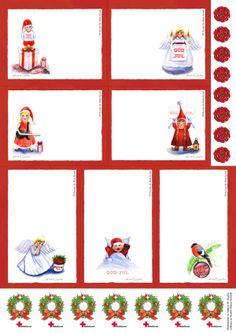 Christmas Illustrations for The Red Cross by Sabina Wroblewski Gustrin, via Behance