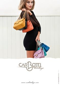 Bags Carbotti - only made in Italy Only on www.geonatshop.com