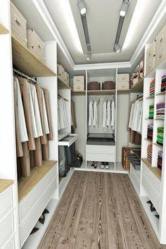 vAvien İç Mimarlık – Country house : modern tarz Giyinme Odası