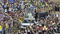 Pope Francis is set to hold a large outdoor Mass Saturday in an area of northwestern Peru that is still struggling to recover from last year's devastating floods that took place last year.  #Americas