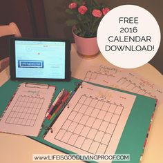 My 2016 planner is now available for pre-order!! Find out details and download a FREE 12 month view NOW at bit.ly/2016plannerpages