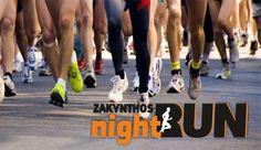 3η διοργάνωση νυχτερινού αγώνα δρόμου, στο νησί της Ζακύνθου