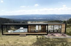 6 | These Gorgeous Sustainable Pre-Fab Houses Fit In A Shipping Container | Co.Exist: World changing ideas and innovation