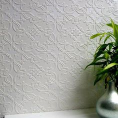 Brewster 437 RD4012 Heaton Paintable Textured Vinyl Wallpaper | Products