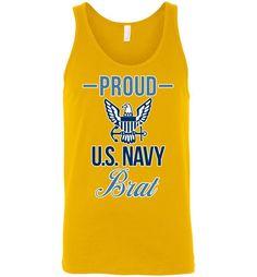 Proud U.S. Navy Brat Unisex Tank