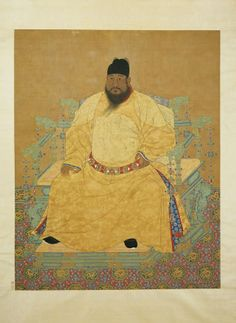 CHINESE ANSESTOR SCROLLS | Chinese emperor | Ancestor painting