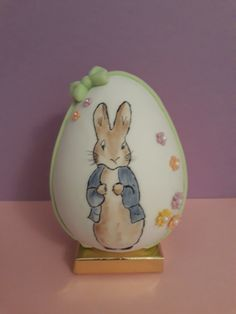 Hand painted Easter Egg Easter Chocolate, Easter Eggs, Hand Painted
