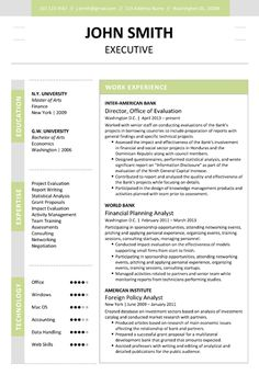 executive resume template 5 pages professional teacher cv - Executive Resume Templates Word