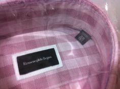 Ermenegildo Zegna beautiful shirt 15.5/39,M/50/40USfit NWT$435 (Holiday Big Sale #ErmenegildoZegna