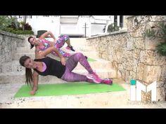 Tonifica Tu Abdomen Y Elimina Las Llantas – Reta a Una Amiga! - YouTube