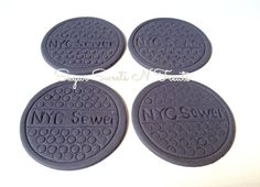 12 Fondant NYC Manhole covers by SugarSweetsNTreats on Etsy, $16.00 TMNT Parties! Ninja Turtles!