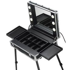 Make-up Stations: professional Make-up Stations for make up artists, nail artists, beauticians and hair stylists. Make Up Studio, Makeup Store, Makeup Case, Nail Artist, Drafting Desk, Cosmetics, How To Make, Cases, Home Decor