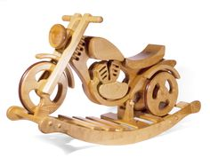 *Schaukelmotorrad / Laufrad* von bayer-holzprodukte auf DaWanda.com