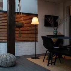Modern Outdoor Floor Lamps, Outdoor Lounge, Outdoor Flooring, Classic Lanterns, Virginia, Wall Lights, Ceiling Lights, Black Floor Lamp, Buying A New Home