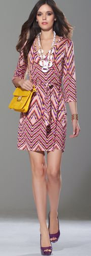 This is really chic, very Missoni inspired!