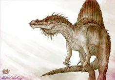 :Spinosaurus: by Abz-J-Harding.deviantart.com on @DeviantArt