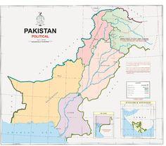 Pakistan New Map - Political Map of Pakistan - Pakistan 2020 Map  #14thAugust #14august #PakistanDay #PAK #PK #Pakistan #independenceday #Map Radio Pakistan, Pakistan Map, Pakistan Today, Pakistan News, Government Of Pakistan, Indian Government, 14 August Wallpapers, Azad Kashmir, Kashmir India