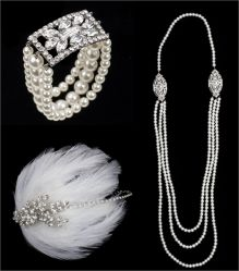 1920s Fashion Accessories got to claries or icing to find the head piece.