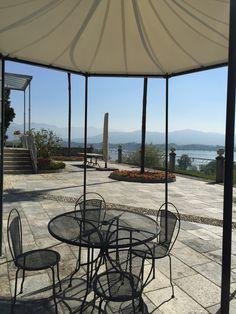 Terrazzo dalla Villa di Delizia Lago di Pusiano