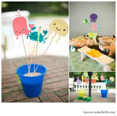katharine, first birthday party, under the sea, first birthday party ideas_034