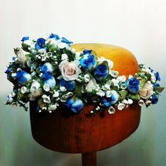 #Cherubina #headpiece #tocado #novia #bride #boda #wedding #corona flores