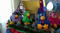 Decoração infantil Galinha Pintadinha - Tradicional luxo