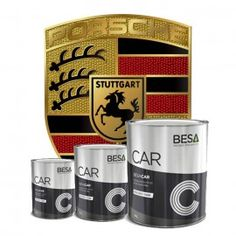 Peinture Porsche en pot ou en aérosol