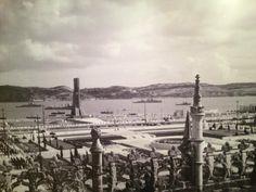 Lisboa 1940, vista dos jerónimos