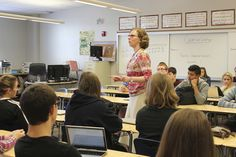 Teaching teenagers is hard enough. But just imagine teaching them blind. That's what Kathy Nimmer – an Indiana English teacher a ...