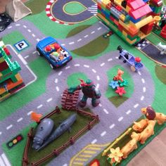 normal traffic in my Children s room #traffic #toys #Ikea #cameretta #giochi #giochiamo #littleworld #ognigiorno #family #homeliving #interior #colours #remember #driving #badroom #bambini #giocattoli #bimboworld #toyscenter #playmobil #lego