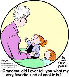 Family Circus Cartoon for Apr/24/2014