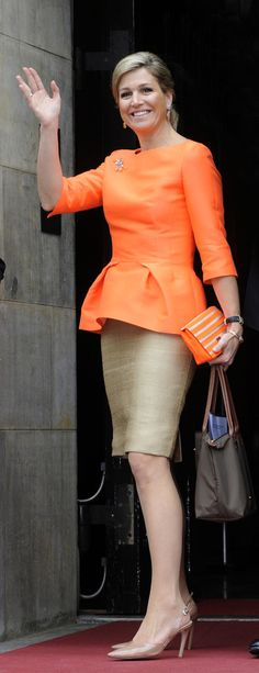 Queen Maxima - King Willem-Alexander at the Annual Apples of Orange
