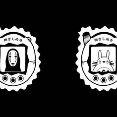 Available!! Lil Ghibli's Tamagotchi for fun! Kaonashi and Totoro👾🍣🍱🍛🎋⚡ #draw #drawing #tattoos #picture #freaks #weird #geek #ink #darkartists #japan #vintage #tamagotchi #inked #photography #illustration #old #catbus #beautiful #totoro #tattoo #food #darkartist #ghibli #cute #art #modern #cat #pop #culture #lettering