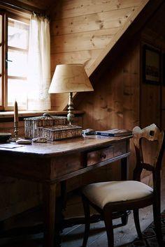 austrian alpine lodge house tour