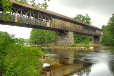 Blair Bridge, Campton, New Hampshire, États-Unis