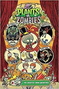 """Dr. Zomboss erroneously believes that all humans hold a secret desire to run away and join the circus, so he aims to use his newly created """"Big Z's Adequately Amazing Flytrap Circus"""" to lure Neighborville's citizens to their doom! Not only does starting a zombie circus prove difficult, though, but once plant-friendly neighborhood defenders Nate and Patrice infiltrate his show, Ringmaster Zomboss and his hapless zombies are in for a garden-ful of trouble!"""