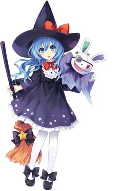 <3 ~{* Halloween Anime Girl *}~ <3 From the manga/anime Date A Live