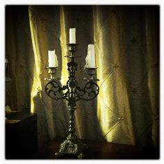 Gothic Candle Holder by tatteredsaints, via Flickr