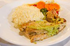 Chicken with pesto sauce  Drake Bay Wilderness Resort Drake Bay, Osa Peninsula Costa Rica #food #travel #family #vacation