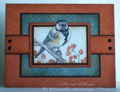 Rustic Chickadee by Rox71 - Cards and Paper Crafts at Splitcoaststampers