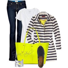 Citrus and Stripes, created by orysa on Polyvore