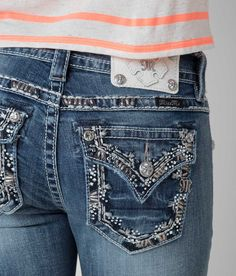 Miss Me Mid-Rise Boot Stretch Jean - Women's Jeans | Buckle