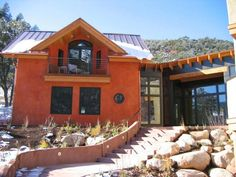 awesome strawbale home