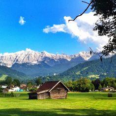 Wettersteingebirge....